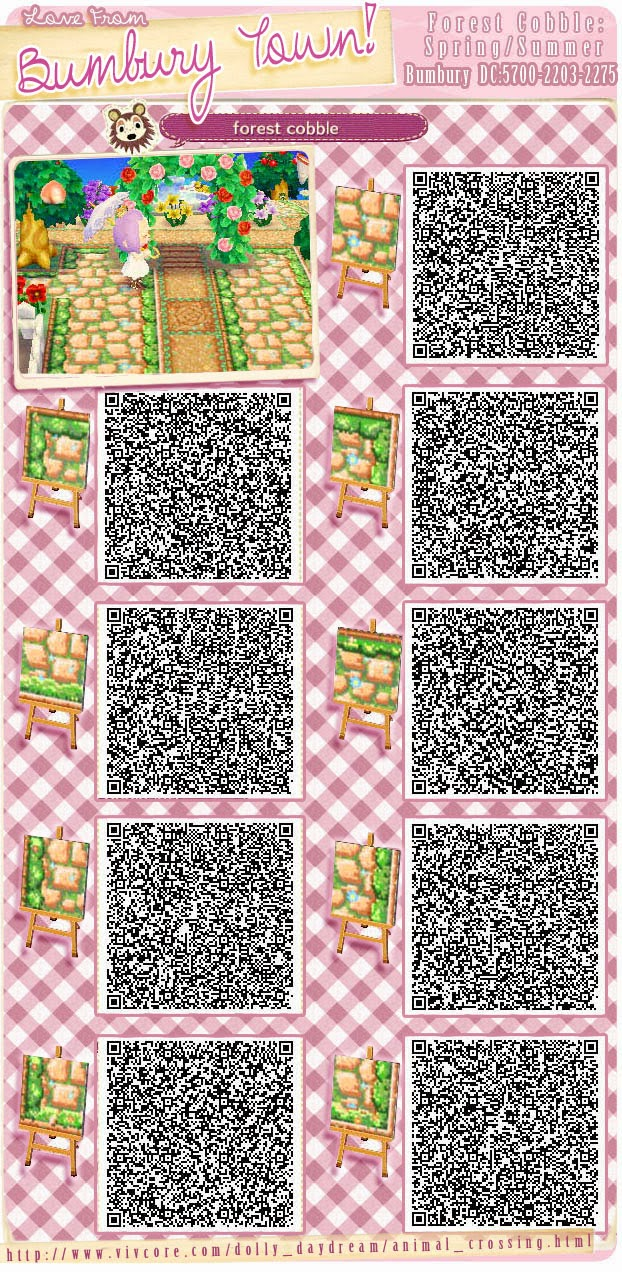 Animal Crossing Qr Codes Floor Home