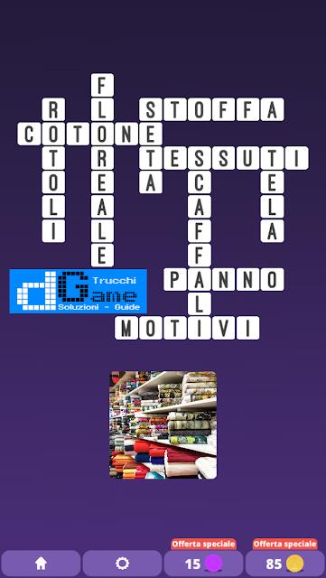 Soluzioni One Clue Crossword livello 24 schemi 5 (Cruciverba illustrato)  | Parole e foto