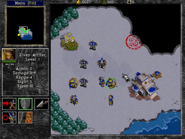 Warcraft 2 Elven Archer Screenshot