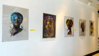 Cultural Exhibition Hall has lot of art in Malabo
