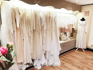Our rails are filled with beautiful vintage wedding gowns, long sleeve wedding dresses, boho wedding dresses, 1920s wedding dresses