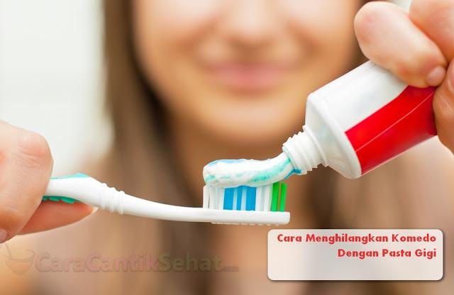 Cara Menghilangkan Komedo Dengan Pasta Gigi