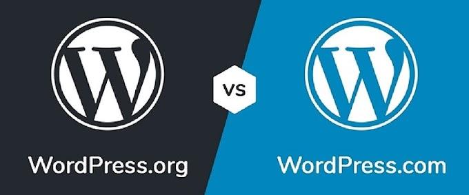 Self Hosted WordPress.org vs. WordPress.com