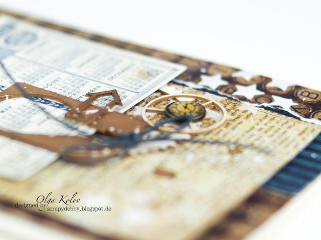 @olgakolov #alteredart @ScrapBerrys #fotorahmen #scrapbooking #photoframe #card #scrapbooking