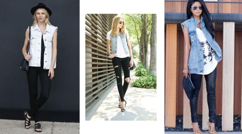 Colete Jeans: Várias Formas de Usar