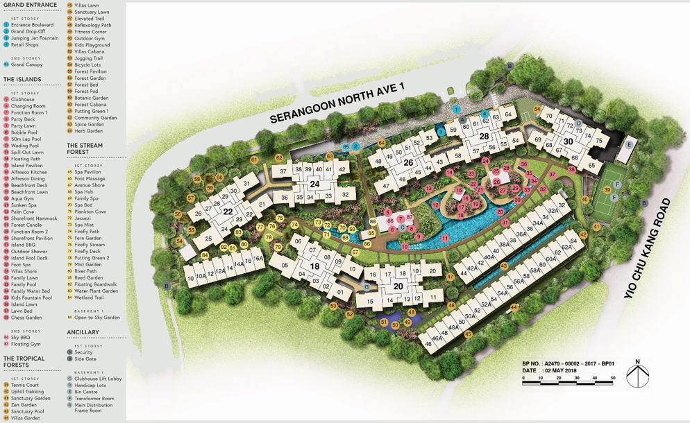 Affinity at Serangoon Site Plan