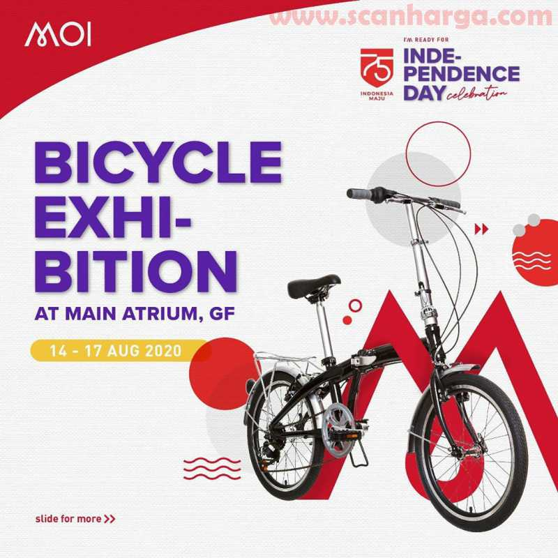 Mall Of Indonesia Highlights Promo dan Pameran Sepeda di Main Atrium GF* 14-17 Agustus 2020
