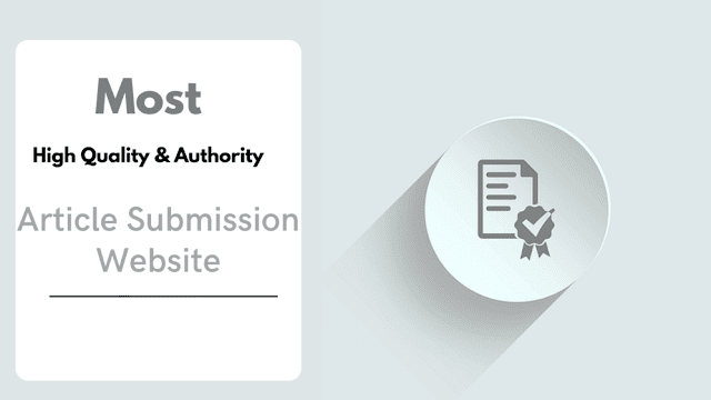 Article-Submission-Website