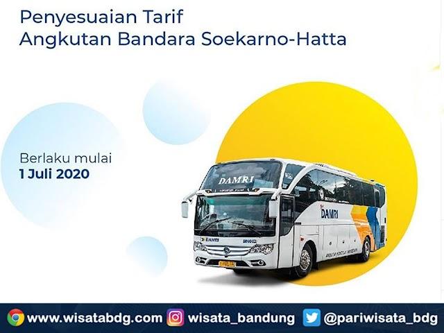 Lebih Murah, Ini Tarif Baru Trayek Bus DAMRI ke Bandara Soekarno-Hatta Bulan Juli 2020