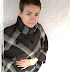 [Nähen] Flicken-Poncho aus einer kaputten Wolldecke nähen