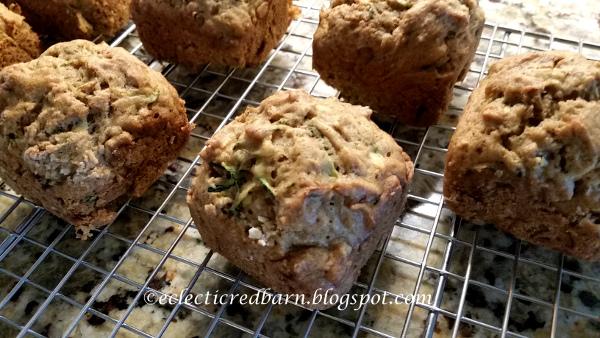 Easy Zucchini Muffins