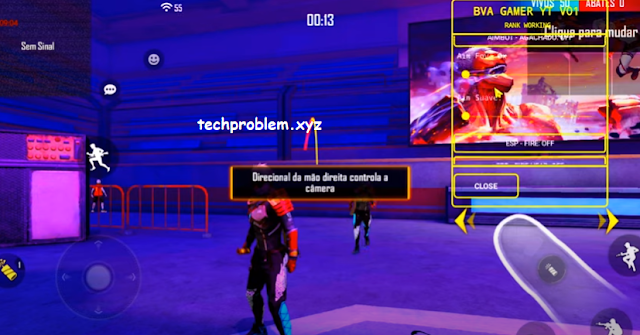 Free Fire Mod Menu BVA Gamer YT V1 Fly Player Ghost Teleport Antiban Work Rank
