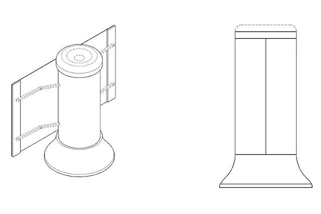 براءة اختراع من سامسونج لمكبر صوت ذكي مزود بشاشة قابلة للف