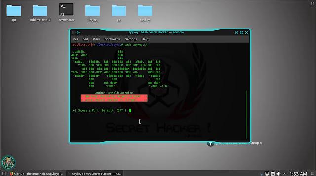 Spykey - FUD Win32 Keylogger and Reverse Shell ~ Secret Hacker