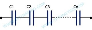 cara menghitung kapasitansi total rangkaian kapasitor seri paralel