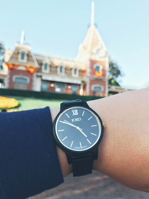 Jord Frankie Watch, unique wooden watch, men's watch, women's watch, Disneyland