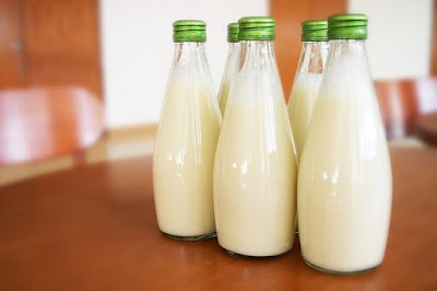 intake of raw milk will cure from psoriasis