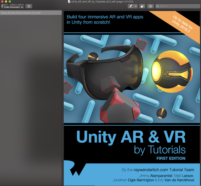 Unity AR and VR by Tutorials Ray Wenderlich