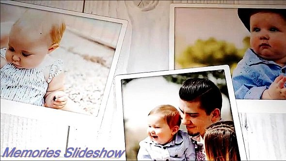 Memories Slideshow v3 - Project for After Effects