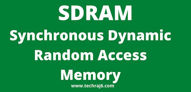 SDRAM full form, What is the full form of SDRAM