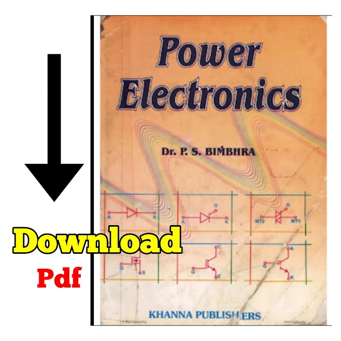 Power Electronics Book PDF Free Download