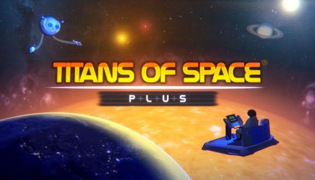 In the new game for virtual reality called Titans of Space PLUS, you have to go on a big space journey throughout the solar system