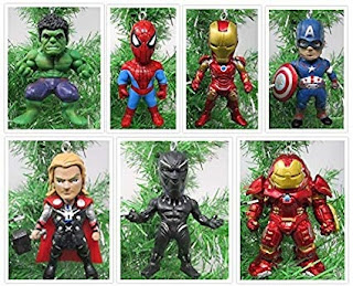 Click here to purchase Avengers Ornament Figures Set at Amazon!