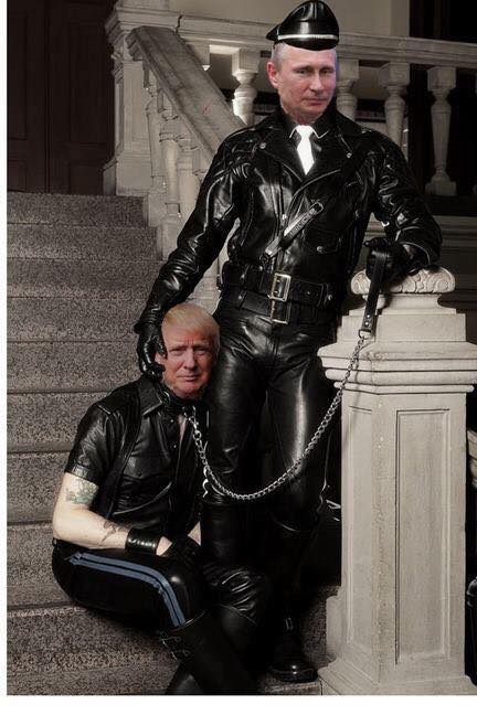 Image result for trump putin bdsm