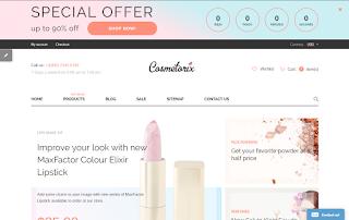 Cosmetorix Shopify Theme