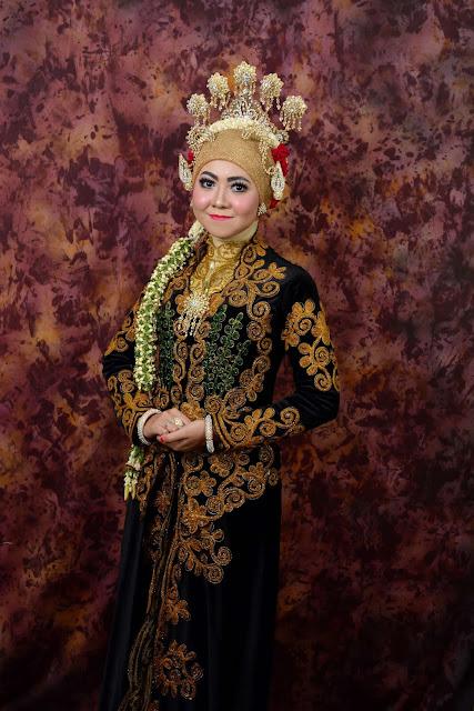 Rias pengantin adat jawa muslimah hijab
