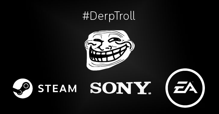 DerpTroll DDoS Attack