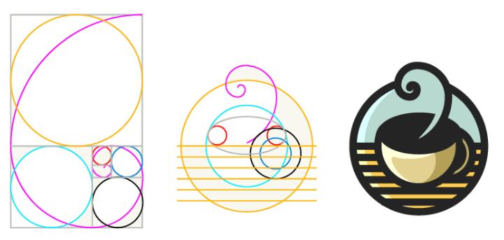 Usando a proporção áurea no design