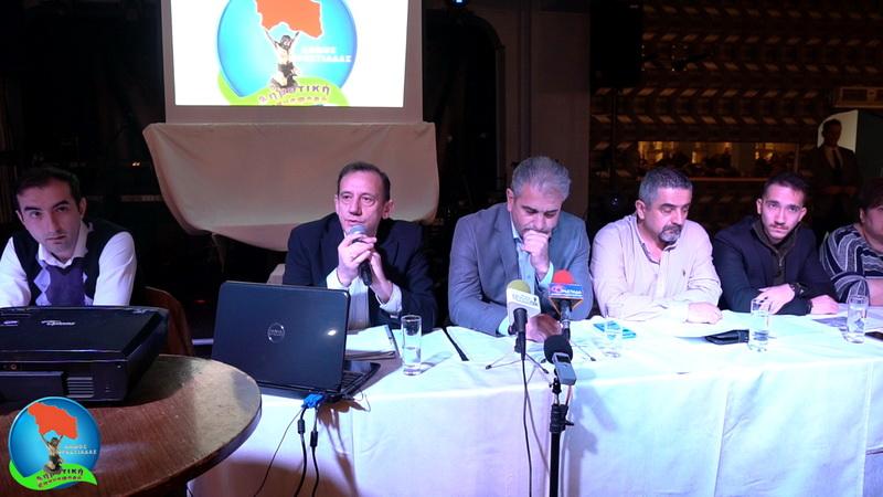 Ορεστιάδα: Παρουσιάστηκε το πρόγραμμα του συνδυασμού Δημοτική Επαναφορά του Χρήστου Καζαλτζή