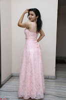 Sakshi Kakkar in beautiful light pink gown at Idem Deyyam music launch ~ Celebrities Exclusive Galleries 002.JPG