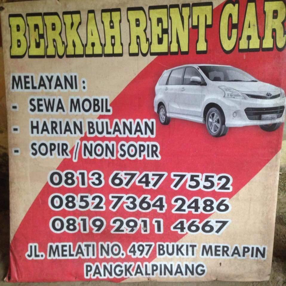 Rental Mobil Berkah Pangkalpinang