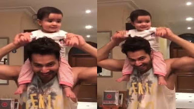 Varun Dhawan Shared an adorable Dance Video With Niece