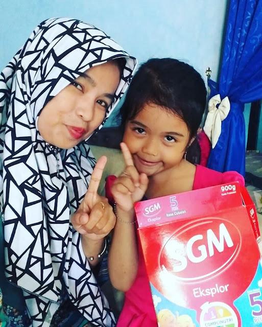 Sebagai Mombassador SGM Eksplor Saya Bangga Punya Anak Generasi Maju Yang Berprestasi