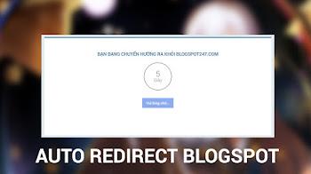 Tạo trang chuyển hướng liên kết ngoài tự động Blogspot