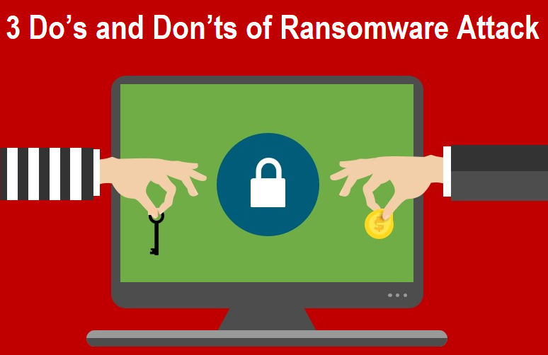 Do's and Don'ts of Ransomware Attack