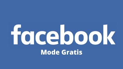 Cara menggunakan mode gratis di Facebook