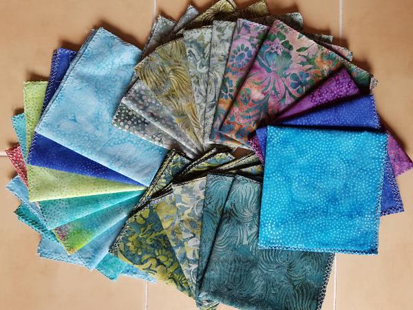 fabric napkins | DevotedQuilter.com