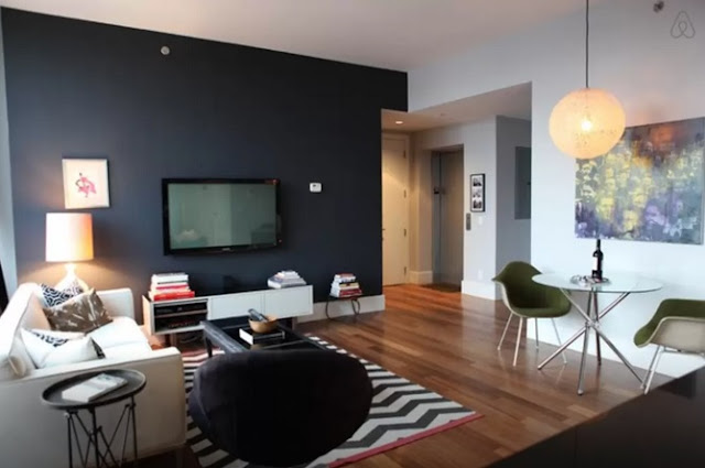 Air BnB Williamsburg Luxury Living Room