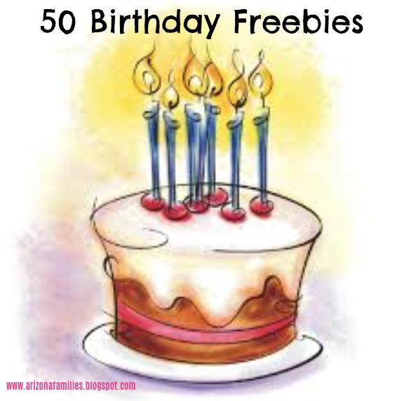 Arizona Families: 50 Birthday Freebies in Arizona #birthdayfreebies
