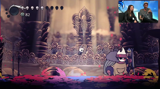 Hollow Knight gods and glory content update Paint Master boss