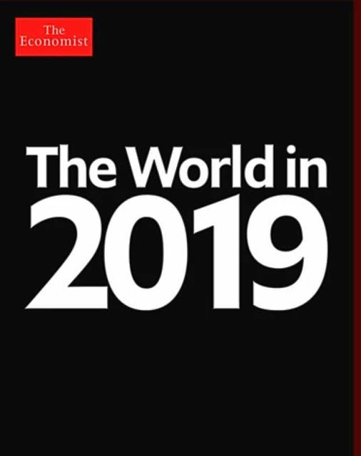 The Economist kapağı 2019 - Siyah kapak