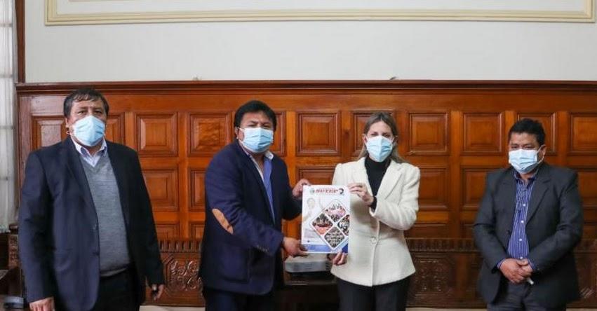 Congreso pondrá demandas del SUTEP a consideración de las bancadas