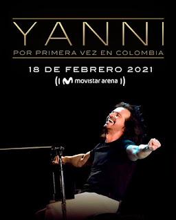 Concierto de YANNI en Colombia 2021