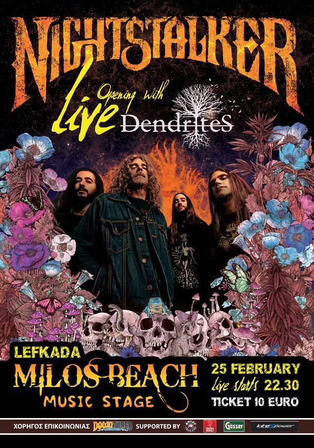 [News] Nightstalker & Dendrites 25/2 live @ Lefkada