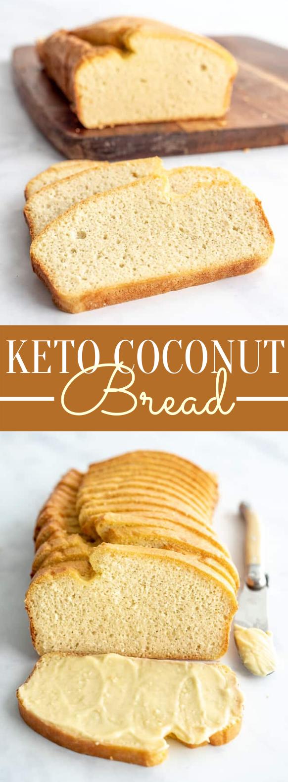 KETO COCONUT BREAD #nutfree #glutenfree