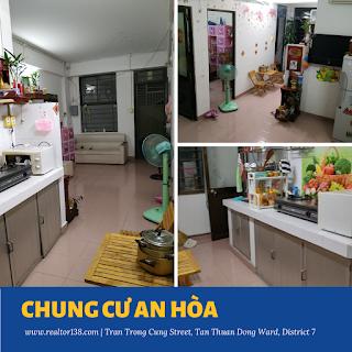 02 phòng ngủ chung cư An Hòa 2019